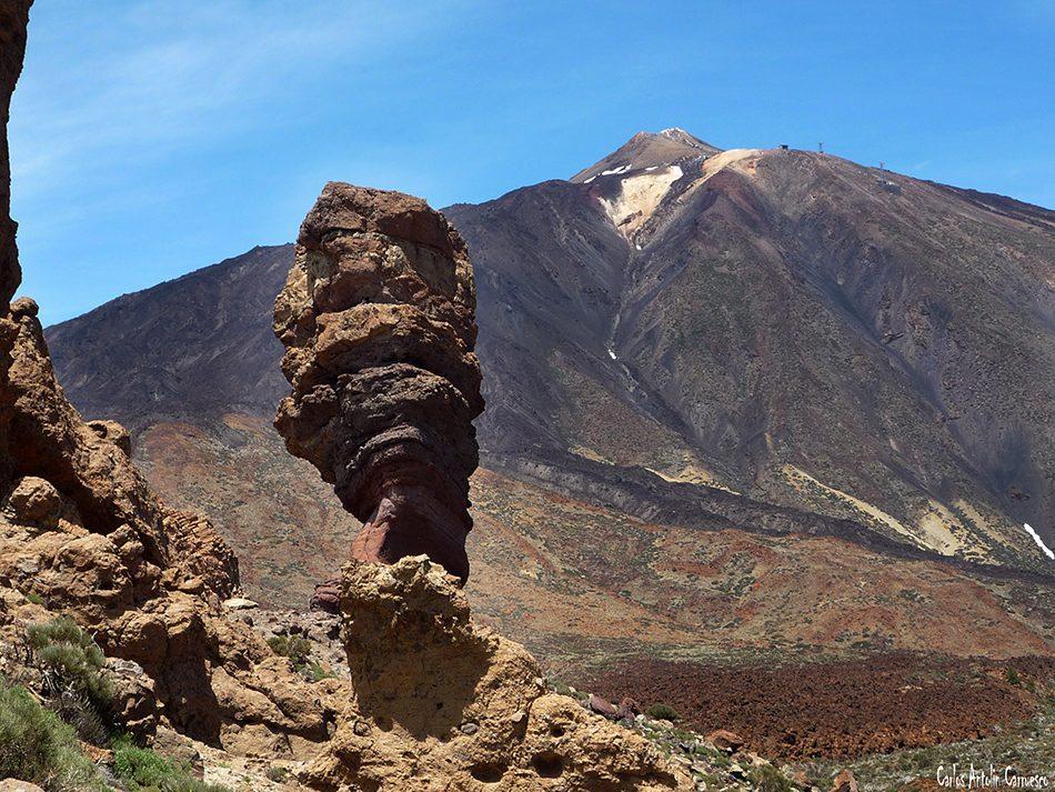 Roque Cinchado - Roques de García - Teide - Tenerife