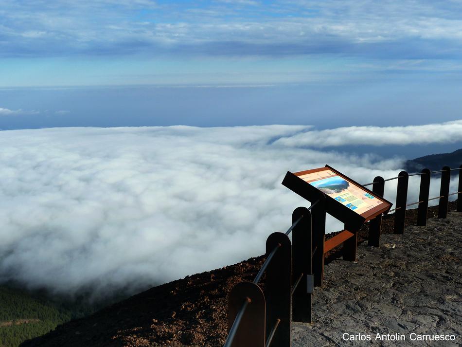 Ruta de la Esperanza - TF24 - Tenerife - mar de nubes