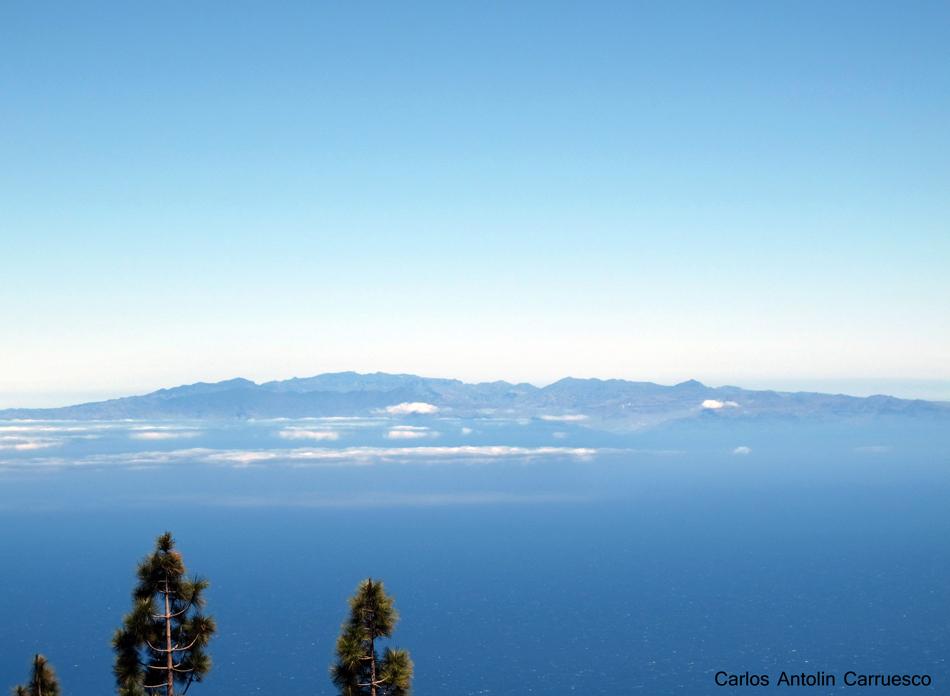 Ruta de la Esperanza - TF24 - vistas a la isla de Gran Canaria - Tenerife