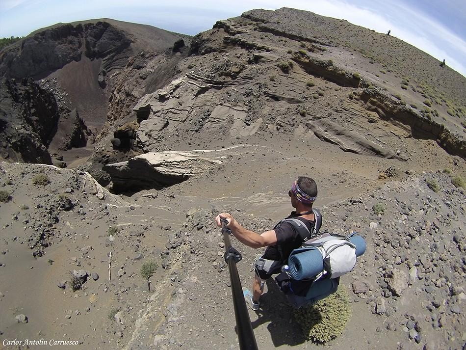 Ruta de Los Volcanes - GR131 - Hoyo Negro - La Palma