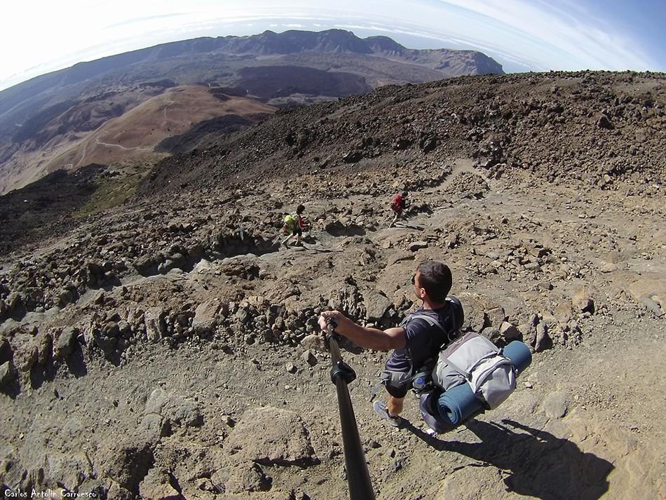 Parque Nacional del Teide - Tenerife - sendero Nº 7 - Montaña Blanca