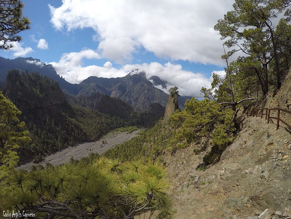 Río de Taburiente - Roque del Huso - La Palma