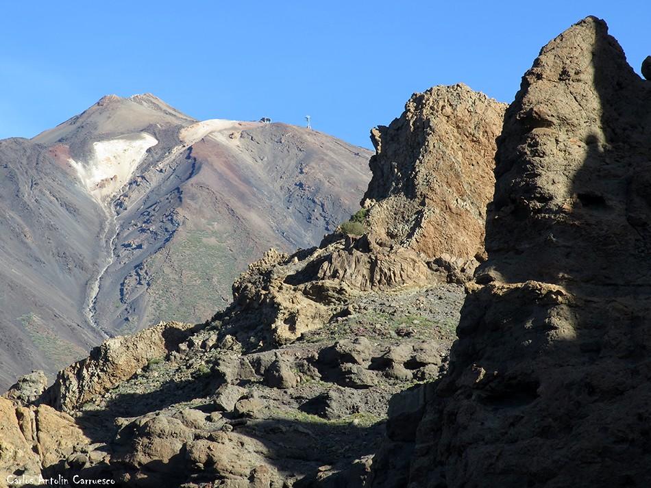 Parque Nacional del Teide - Tenerife - Roques de García - Teide