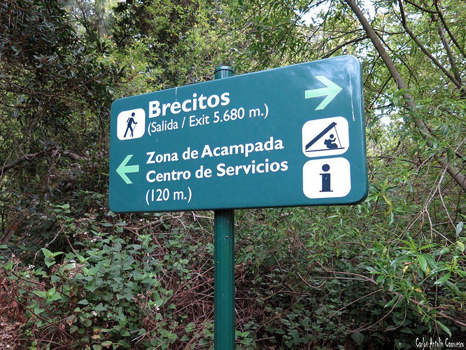 Brecitos - Zona de Acampada - Centro de Servicios Taburiente