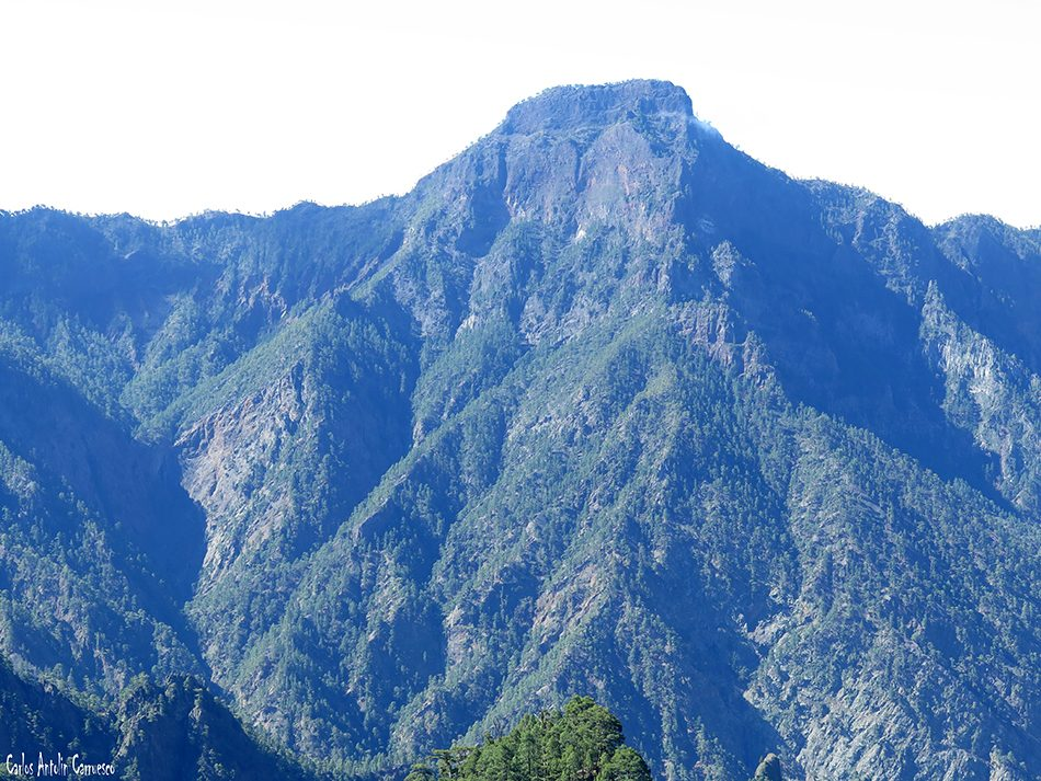 Hoyo Verde - Taburiente - La Palma - pico bejenado