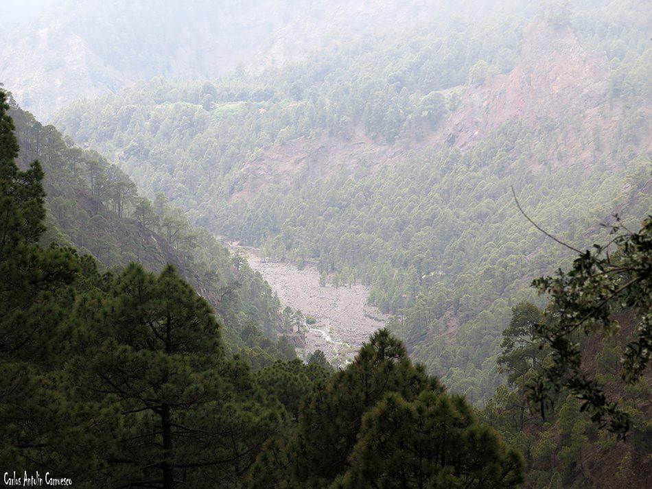 La Cumbrecita - Taburiente - La Palma - río de taburiente