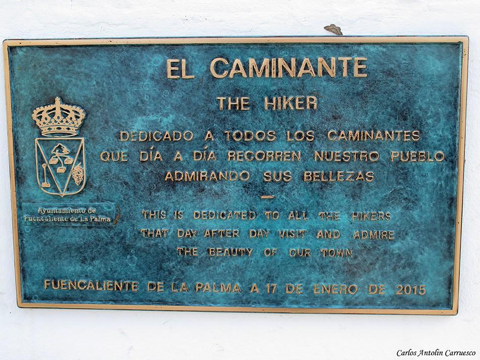 Los Canarios - La Palma - el caminante - the hiker