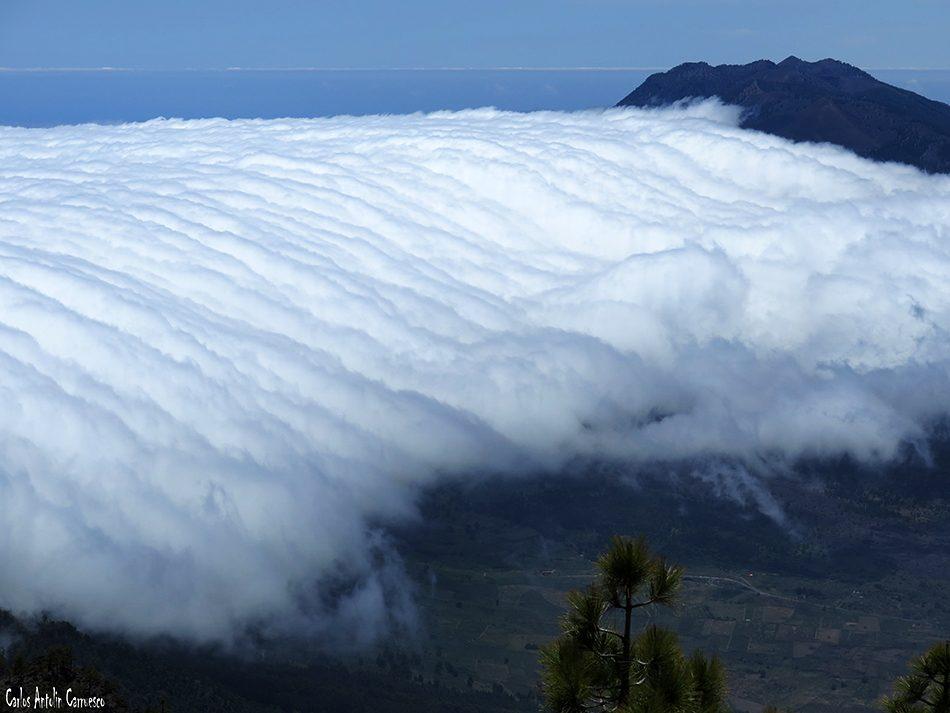Parque Nacional de La Caldera de Taburiente - La Palma - mar de nubes