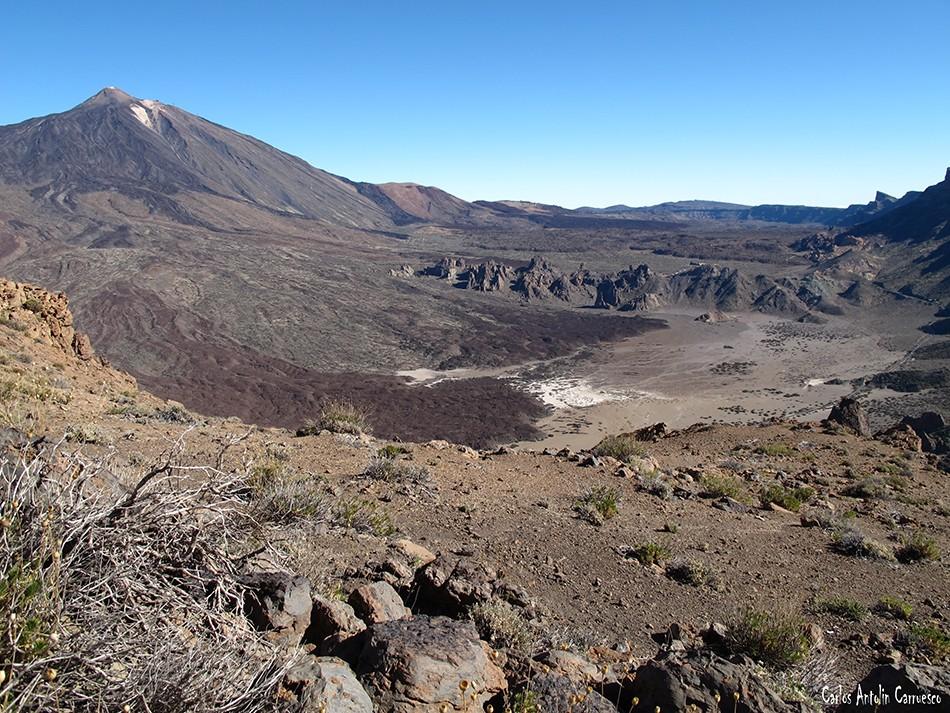 Parque Nacional del Teide - Llano de Ucanca - Tenerife