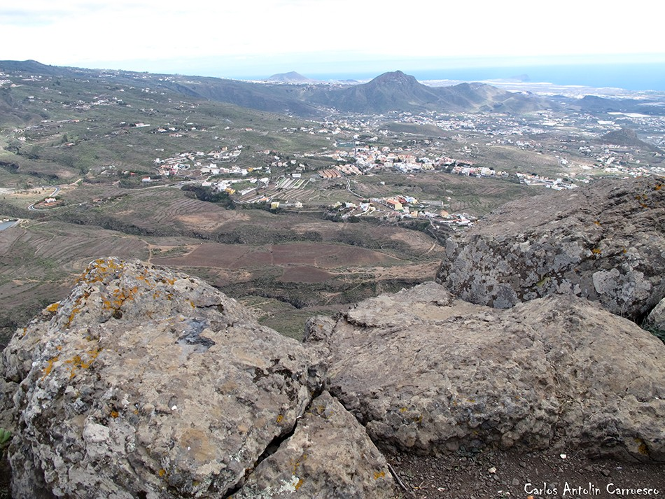 Roque del Conde - Ichasagua - Tenerife - vento - arona