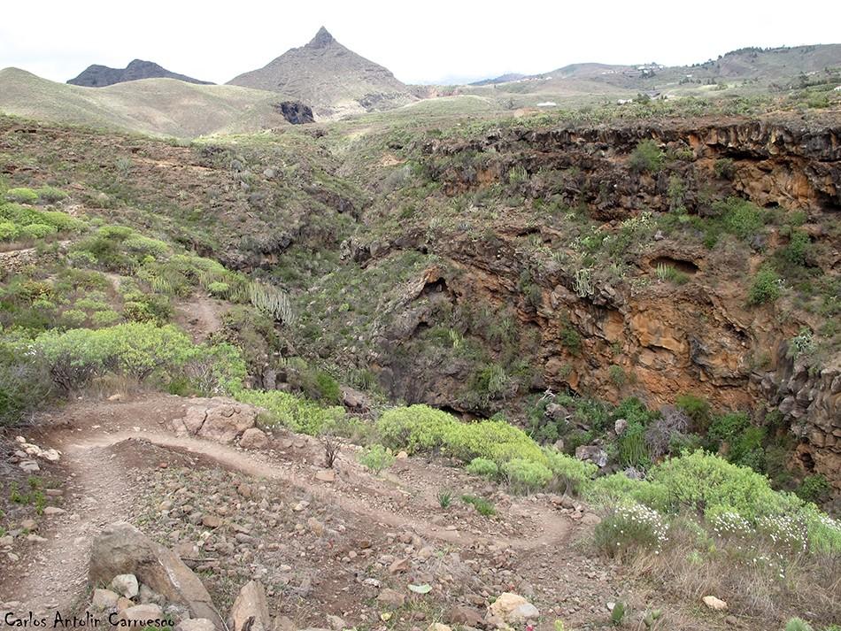 Barranco del Rey - Roque Imoque - Tenerife