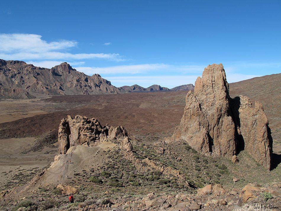 Roques de García - Parque Nacional del Teide - Tenerife - llano de ucanca