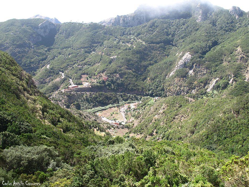 Gran Recorrido Circular por el Faro de Anaga - Tenerife - chamorga