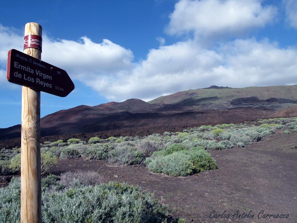 esta es la distancia a recorrer desde el meridiano Cero a la ermita - ruta por Orchilla