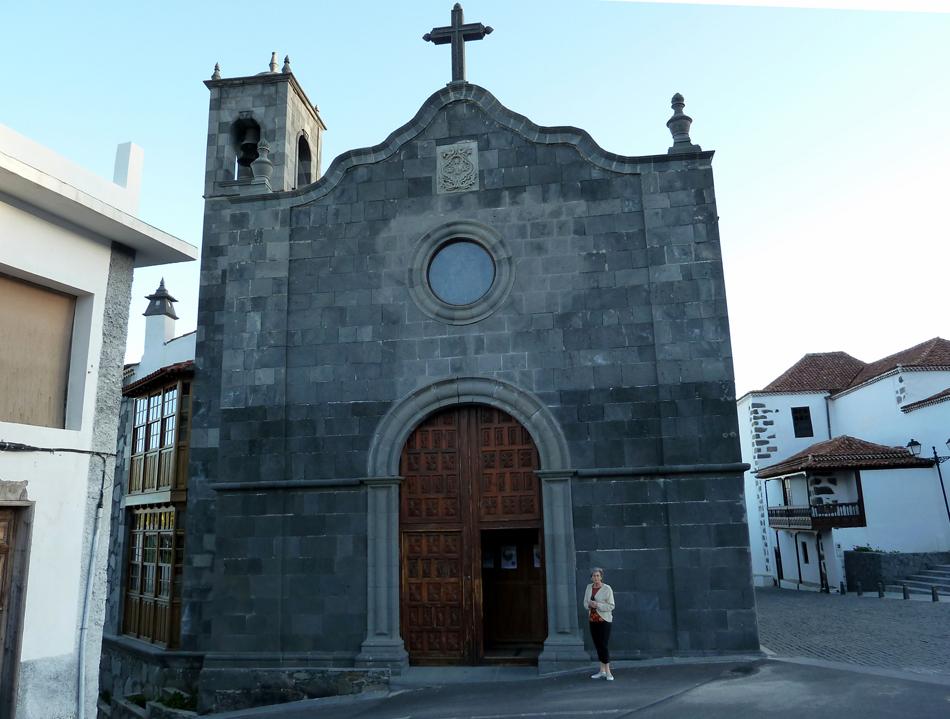 Fachada del convento de la Orden Bethlemita - Santuario del Hermano Pedro - Vilaflor - Tenerife