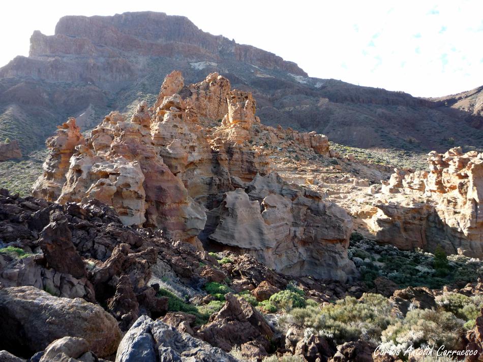 Piedras Amarilas - Camino de Las Cañadas