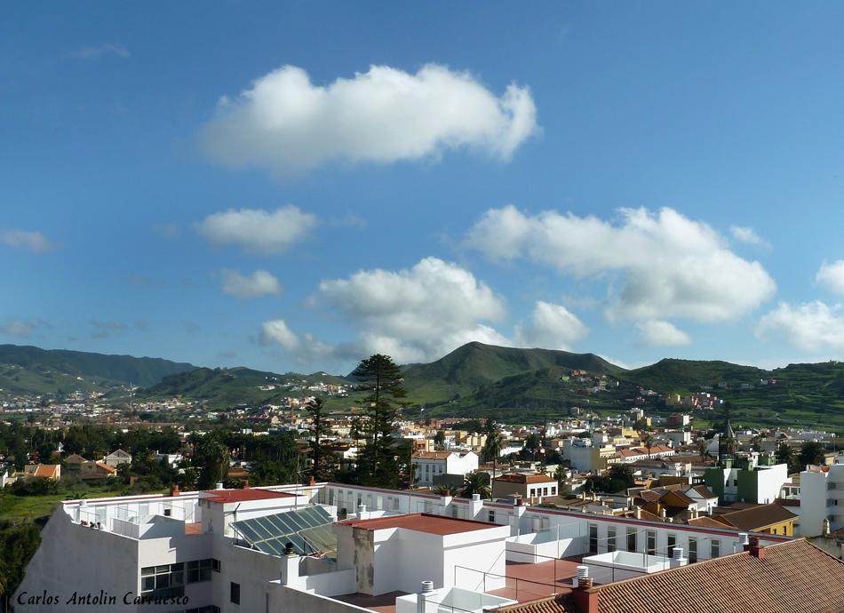 panorámica desde lo alto de la torre de la iglesia Nuestra Señora de La Concepción