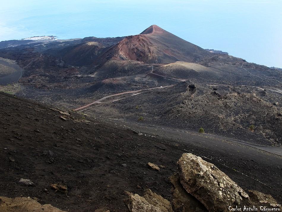 Volcán Teneguía - Paisaje lunar - La Palma