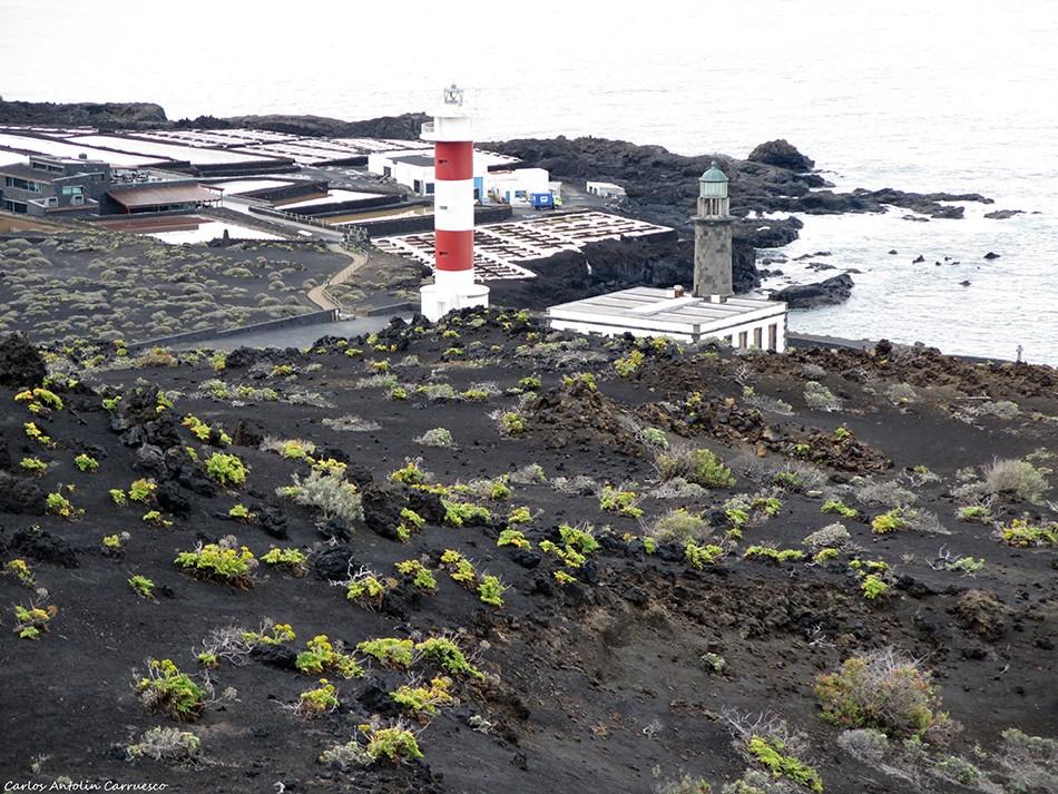 Faro de Fuencaliente - Salinas de Fuencaliente - La Palma