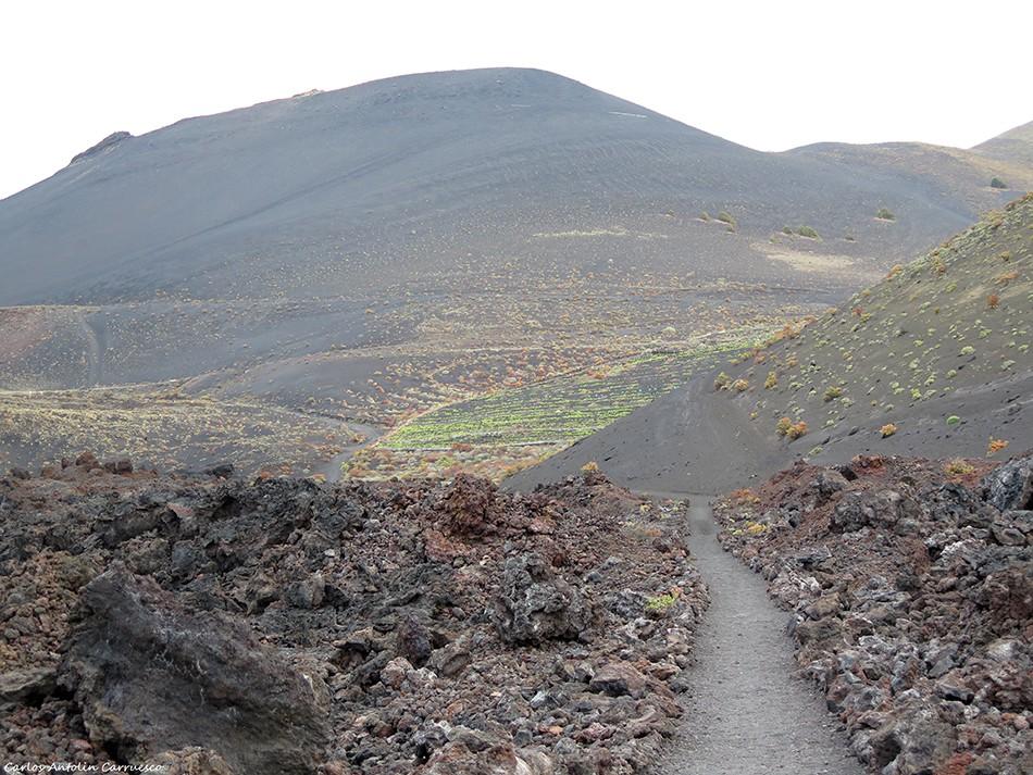 GR131 - Ruta del Bastón - Teneguía - La Palma - volcan - san antonio