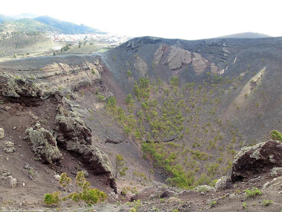Volcán San Antonio - Los Canarios - La Palma