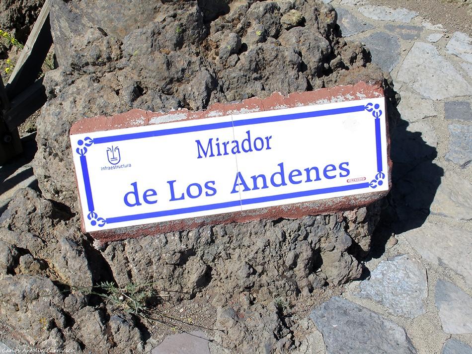 Los Andenes - La Crestería - La Palma