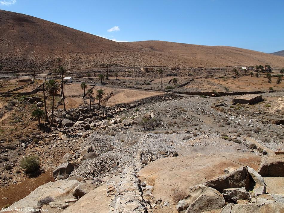 Barranco de Las Peñitas - Fuerteventura - buen paso
