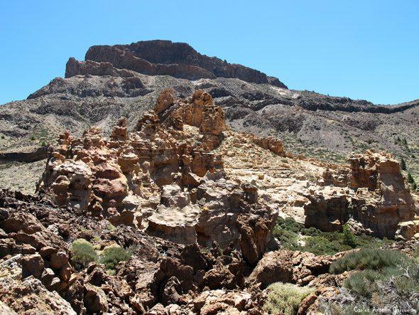 Piedras Amarillas - Alto del Guajara - Tenerife - Parque Nacional de Las Cañadas del Teide