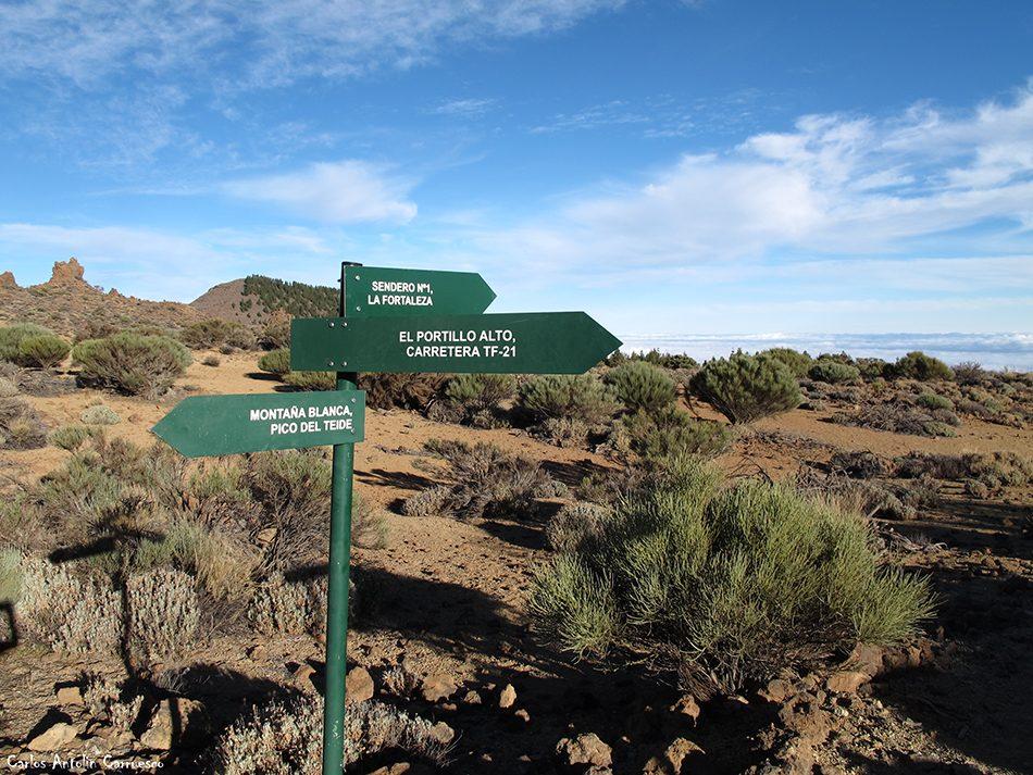 El Portillo - Parque Nacional del Teide - Tenerife