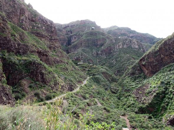 El Sao - Barranco de Agaete - Gran Canaria