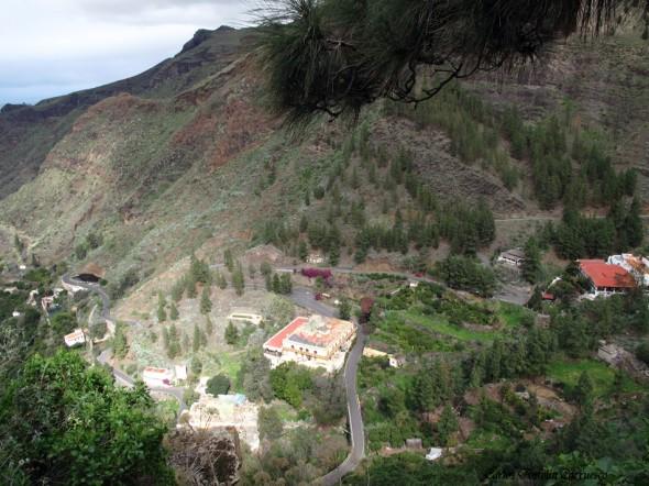 Valle de San Pedro - Agaete - Gran Canaria - Hotel Princesa Guayarmina