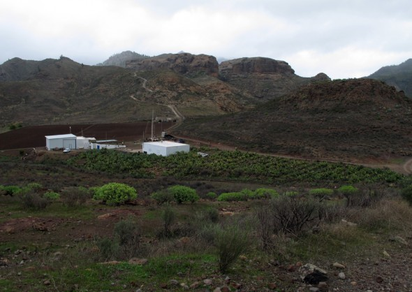 Meseta del Llano de Corral - Embalse de Chira - Cercados de Araña - Gran Canaria