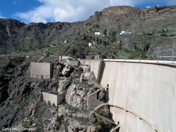 Embalse y presa de Soria - Gran Canaria