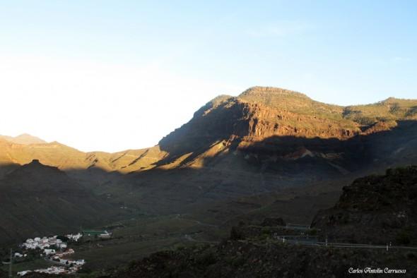 Carretera GC200 - Tasarte - Gran Canaria