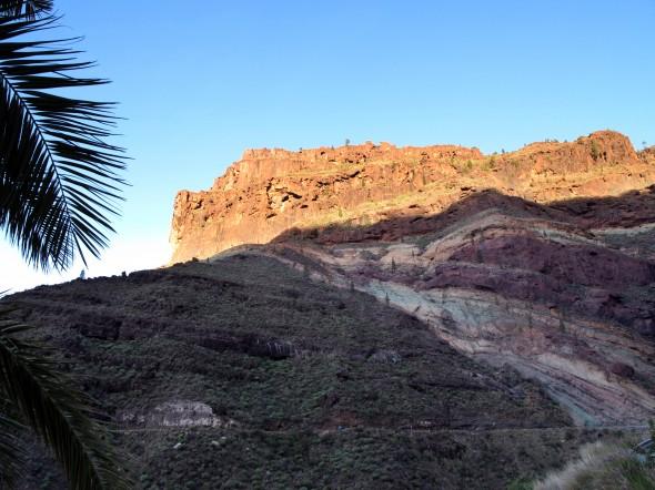 Carretera GC200 - Los Azulejos - Gran Canaria