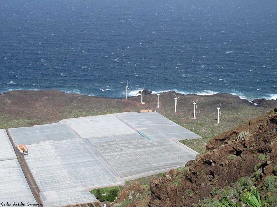 Parque Rural de Teno - Roque Chiñaco - Tenerife - parque eólico