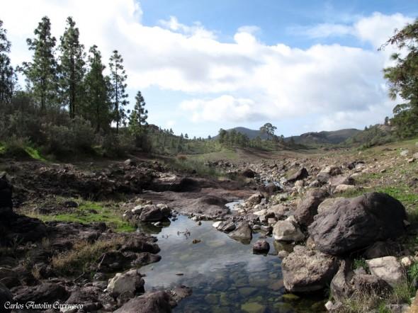Embalse Cueva de Las Niñas - zona recreativa - Gran Canaria