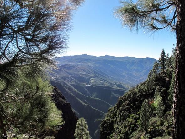 Cumbre central de la isla de Gran Canaria