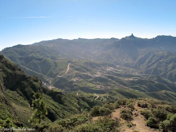 Artenara - Cuevas Caballero - Gran Canaria - Cumbre central de la isla de Gran Canaria