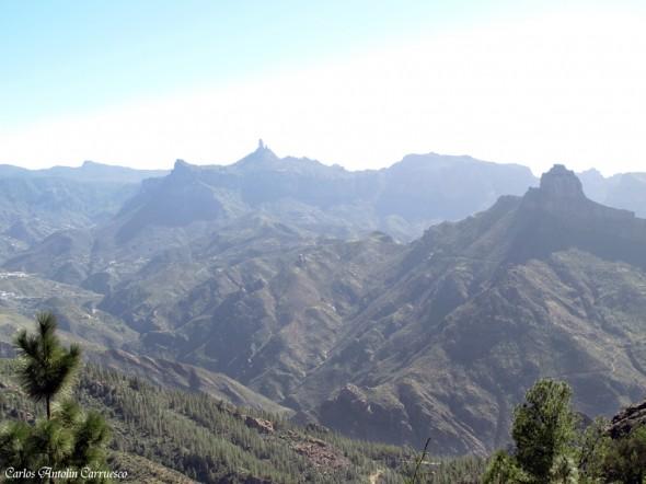 Cumbre central de la isla de Gran Canaria - Roque Bentayga - Roque Nublo