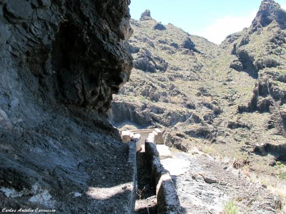 Canal y galería de El Natero - Teno - Tenerife