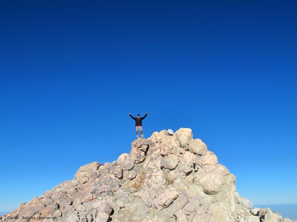Pico y cima del Teide - 3.718 metros