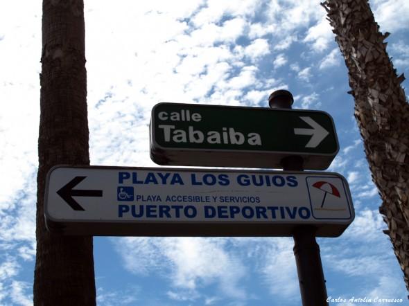 Puerto de Santiago - Los Gigantes - Calle Tabaiba - Teneriferife