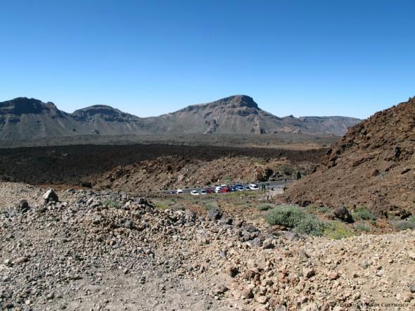 final de la Ruta Nº7 - Parking de Montaña Blanca - Teide - Tenerife