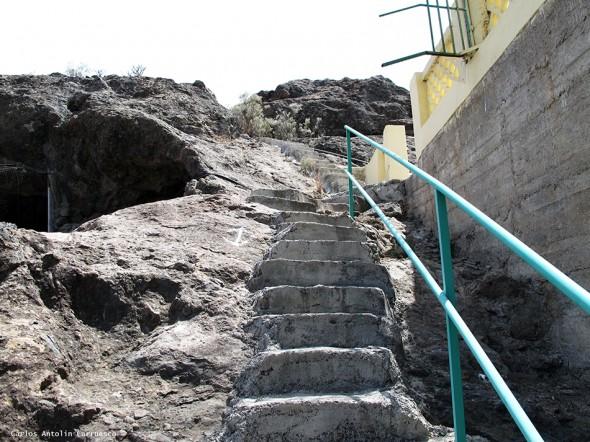 presa Cueva de Las Niñas - Gran Canaria