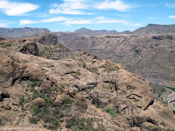 canales de Gran Canaria - Salto del Perro - Cueva de Las Niñas - Soria