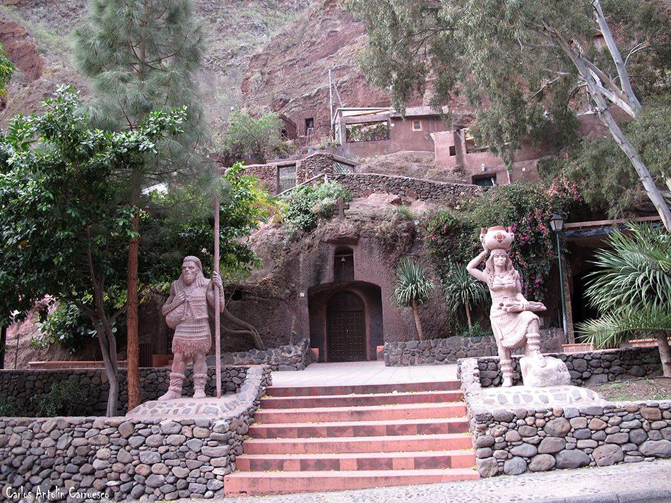 Casas Cueva Bermeja - Guayadeque - Gran Canaria