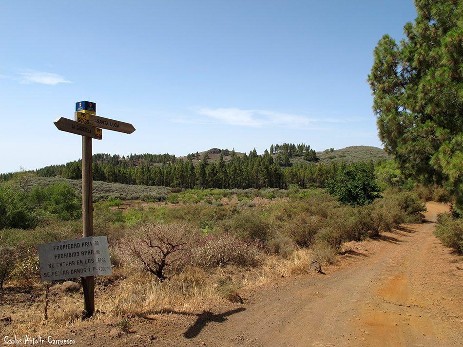 Curva del Agua (GC130) - Gran Canaria