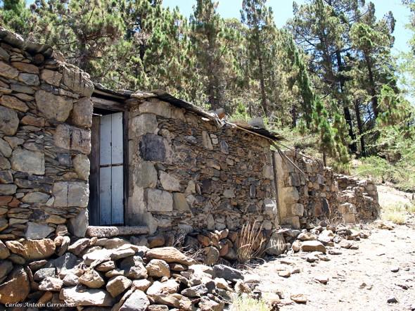"""inicio del sendero """"el Sombrero de Chasna"""" - Tenerife"""