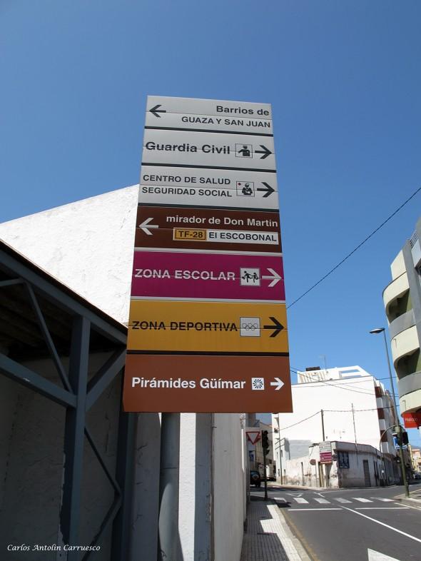dirección Mirador de Don Martín - TF28 - Tenerife